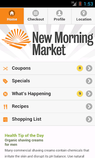 New Morning Market