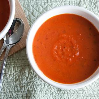 20 Minute Tomato Basil Soup