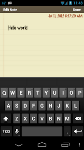 Classic Notes Pro - Notepad - screenshot thumbnail
