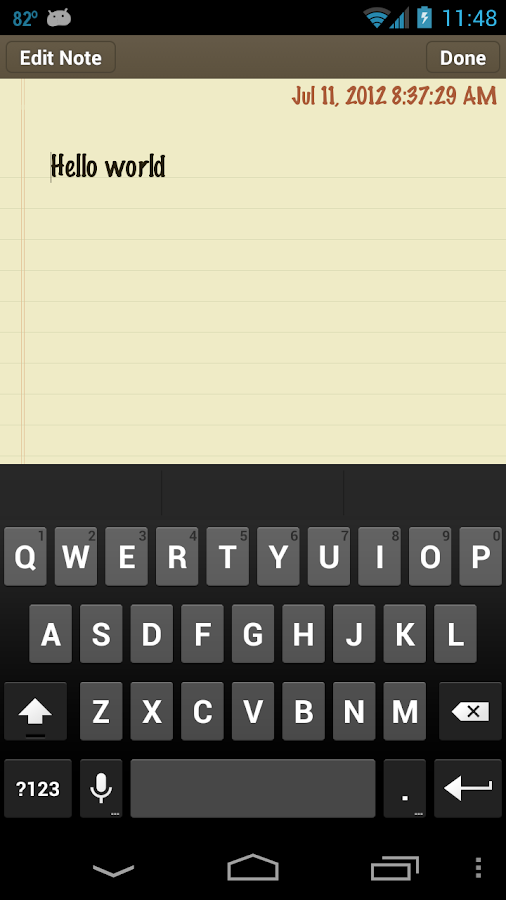 Classic Notes Pro - Notepad - screenshot
