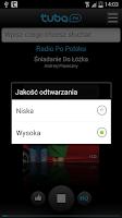 Screenshot of Tuba.FM - free music and radio