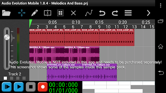 House Melodics & Bass for AEM- screenshot thumbnail