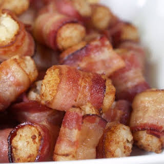 Bacon Wrapped Tater Tots.