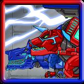 Dino Robot - Tyrano + Tricera