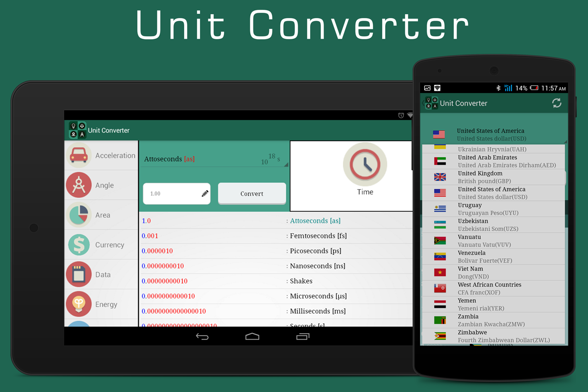 Unit Converter ( Smart tools)- screenshot