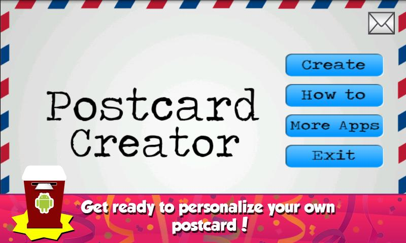 Postcard Creator - screenshot