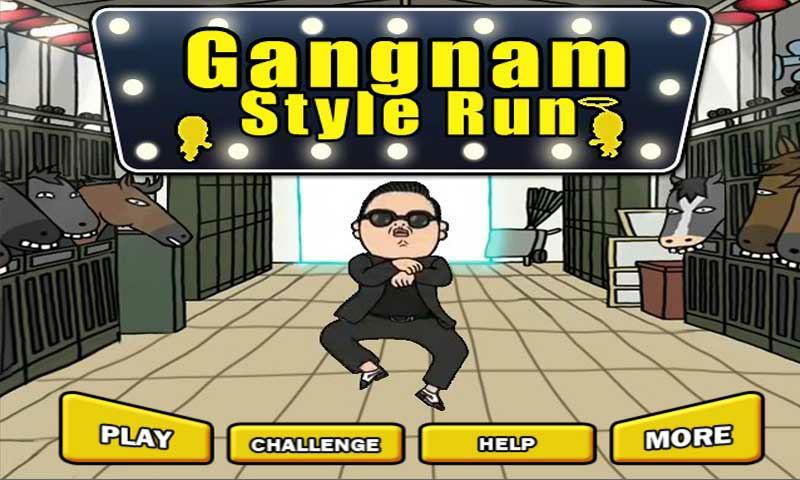 Android Gangnam Style Oyunu Resimler