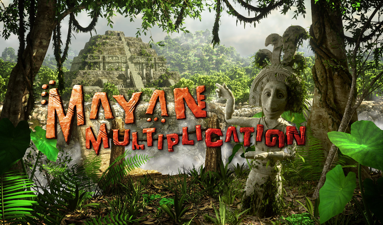 Mayan Multiplication- screenshot
