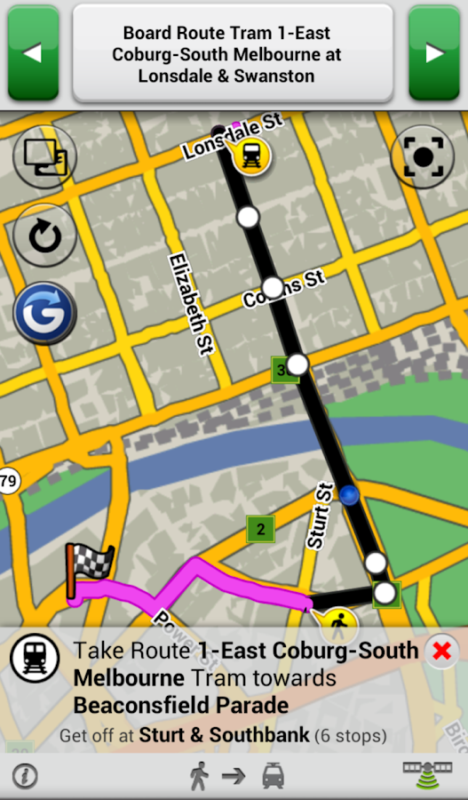 Garmin Navigator- screenshot