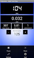 Screenshot of Pedometer - Walk Track Step
