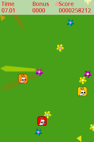 Poke the Rabbit!- screenshot