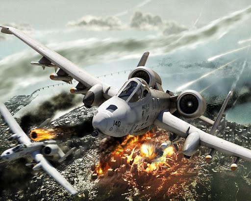 戰鬥機拼圖