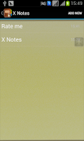 Screenshot of X Private Notes(secret diary)