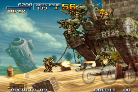 METAL SLUG 3: captura de pantalla