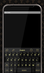 Go Keyboard 7 Gold Theme - screenshot thumbnail