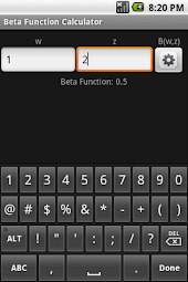Beta Function