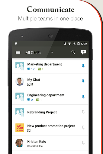 ChatWork - business chat task
