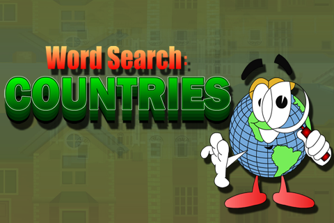Word Search : Countries