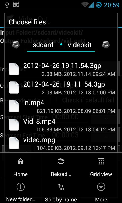 Video Cut - screenshot