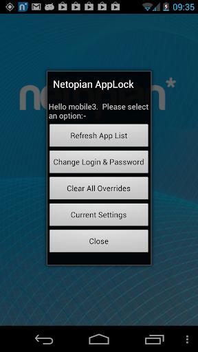 Netopian AppLocker Cutdown