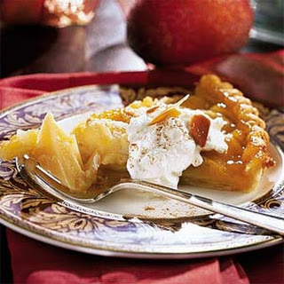Almond-Apple Tart.