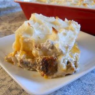 Steff's Shepherd Pie.