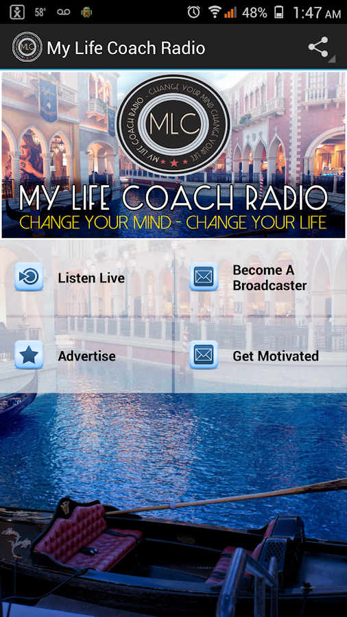 My Life Coach Radio- screenshot