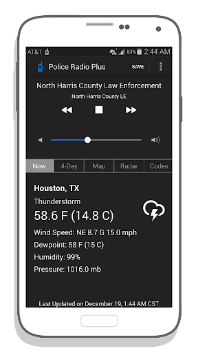Police Scanner Radio Plus