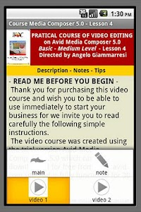 Course Media Composer 5 - Demo screenshot 5
