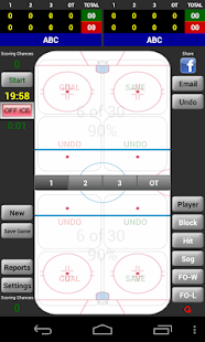 iSOG PRO Goalie & Player Stats- screenshot thumbnail