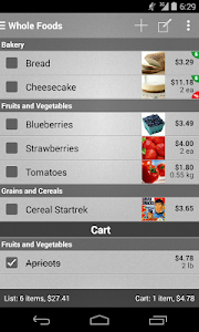 Mighty Grocery Shopping List screenshot 0