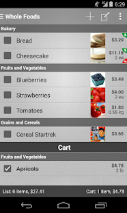 Mighty Grocery Shopping List Screenshot 1