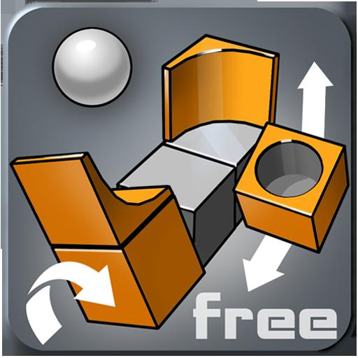 魔方拼圖3D LOGO-APP點子