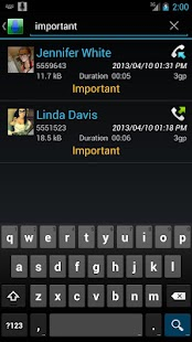 Digital Call Recorder - screenshot thumbnail