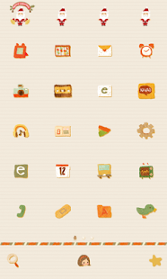 Gifts dodol launcher theme - screenshot thumbnail