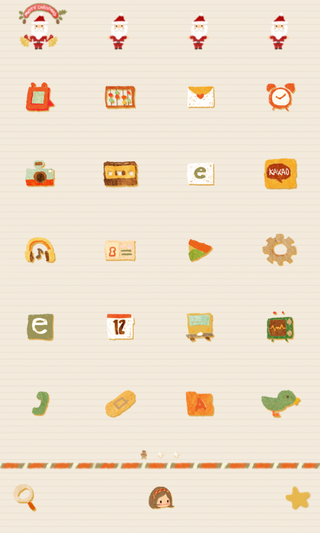 Gifts dodol launcher theme - screenshot