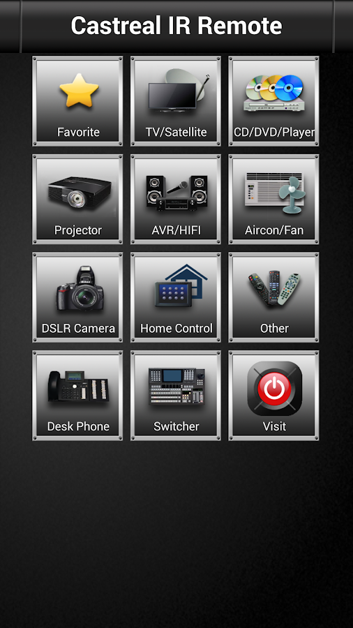 Castreal Remote Control- screenshot