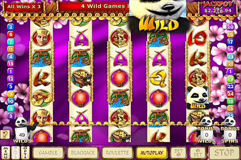 Mystic Panda Slots- screenshot