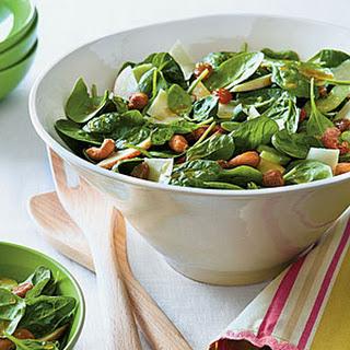 Waldorf Spinach Salad.