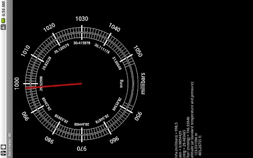 Barometer HD - screenshot thumbnail