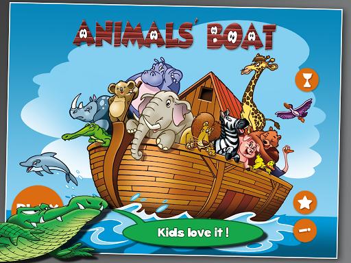 儿童的动物方舟
