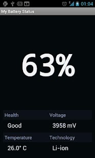 Battery Status- screenshot thumbnail