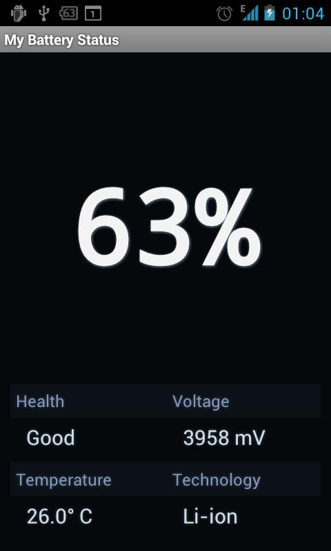Battery Status- screenshot