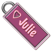 Julie Name Tag