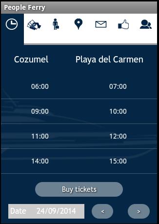 Cozumel Ferry - screenshot