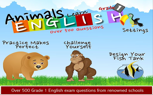 Animals Learn English Grade 1