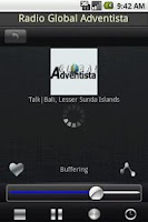 Screenshot of Radio Indonesia