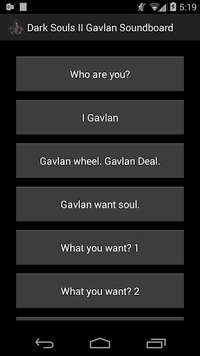DaS II Gavlan Soundboard