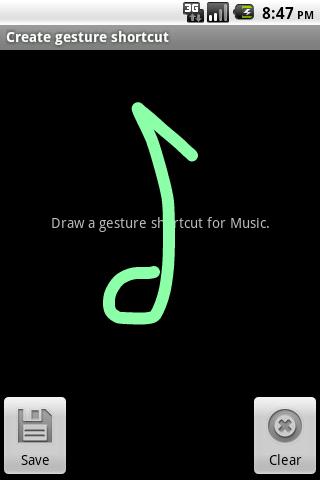 Gesture Shortcuts