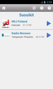 Suomen Radio (Finland) - screenshot thumbnail